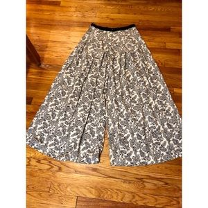 Staring at Stars Wide Leg Black and White Pant
